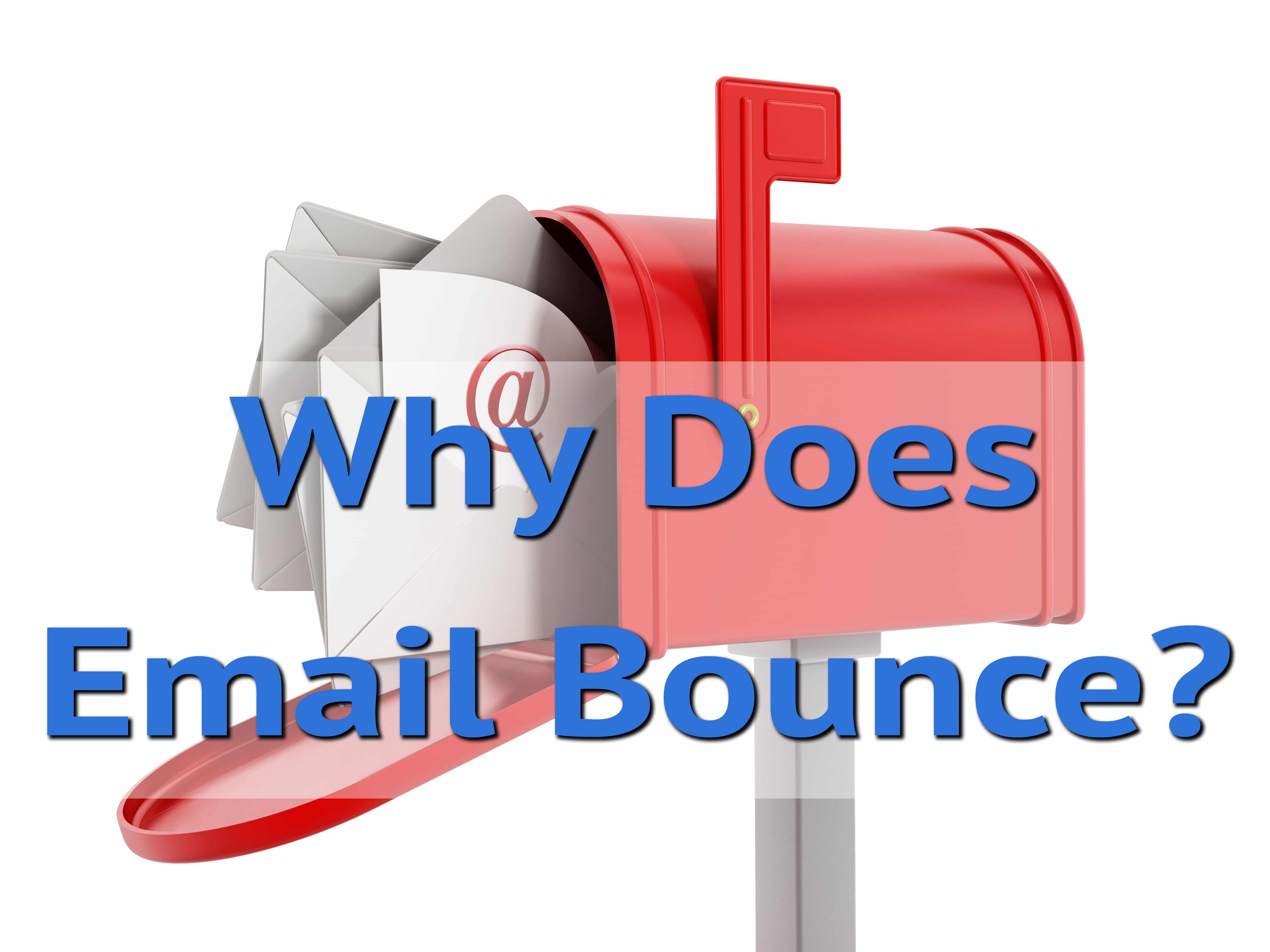 Why Does Email Bounce? - Ask Leo!