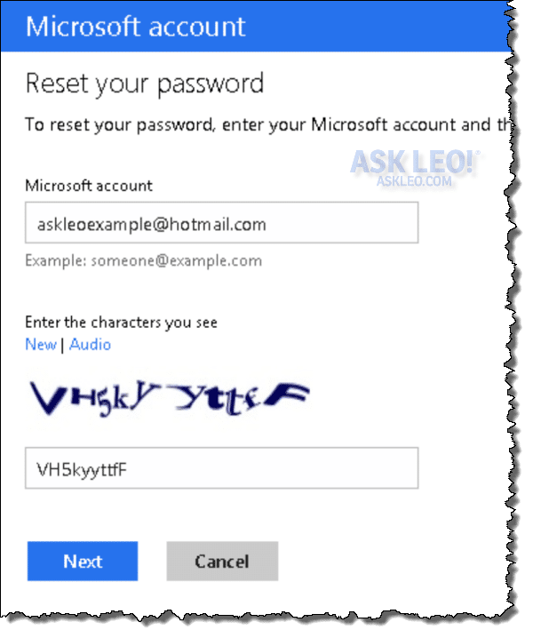 How Do I Change My Hotmail or Outlook com Password If I Forgot It