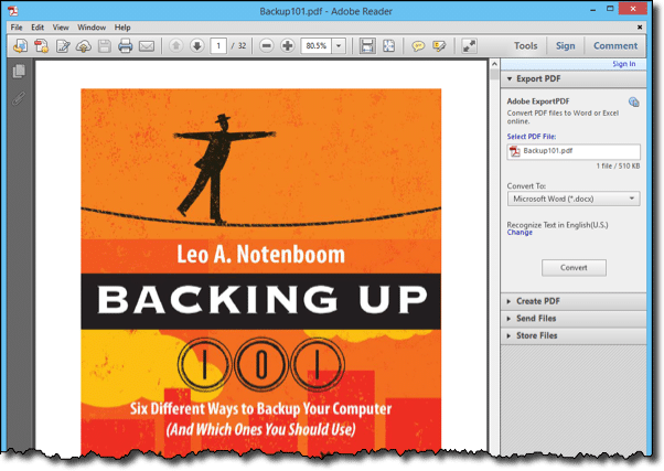 How Do I Download and Read a PDF eBook? - Ask Leo!