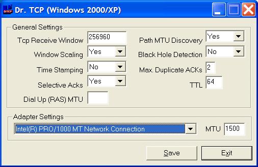 Mtu Settings Switch