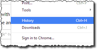 Why are there websites in my browser history that I've never