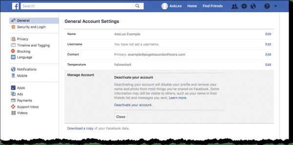 Моя сторінка Фейсбук