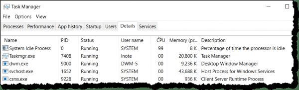 99 disk usage windows 10 2018