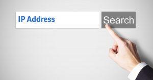 Searching an IP address