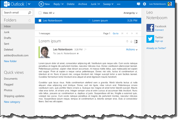 How Do I Print an Email in Outlook com (Formerly Hotmail