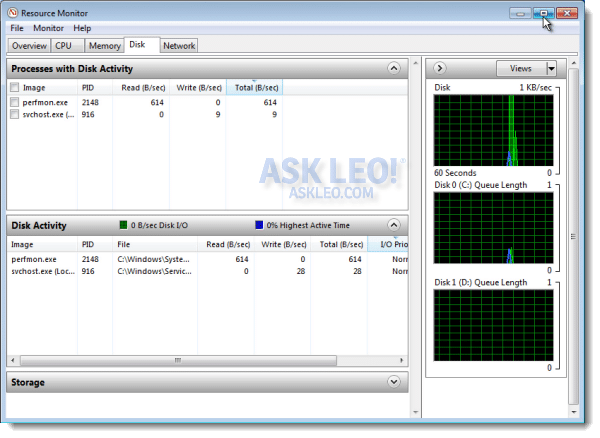 Monitoring Your System with Resource Monitor - Ask Leo!