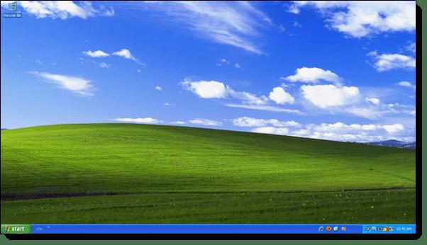 Windows xp wallpaper price