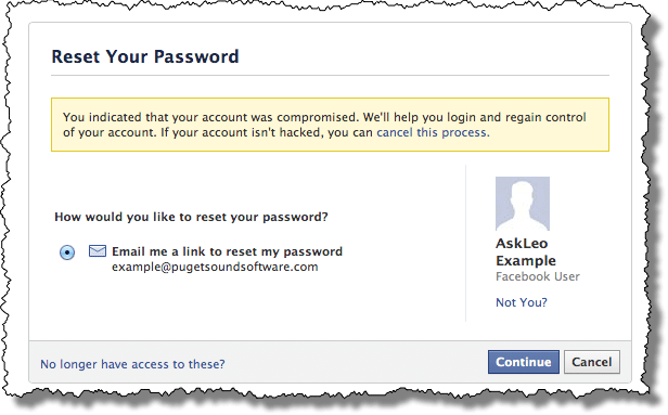 How Do I Recover My Hacked Facebook Account? - Ask Leo!