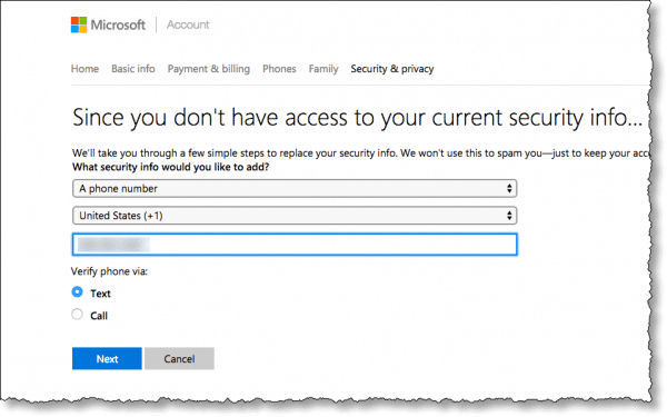 How Do I Change the Mobile Number Associated with My Hotmail