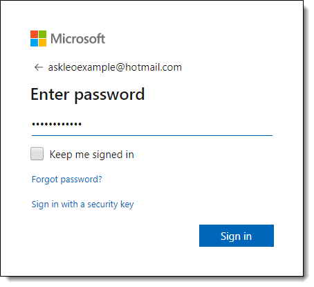 How Do I Get into My Outlook com Account If I Don't Have the