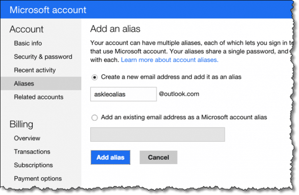 Change Your Hotmail or Outlook com Email Address With An