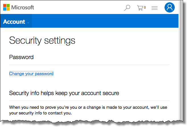 Recover Your Microsoft Account Later by Setting Up a