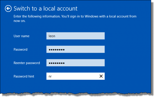 How Do I Switch Back to a Local Account Sign-in for Windows 10
