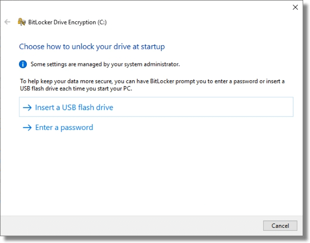 How to unlock BitLocker
