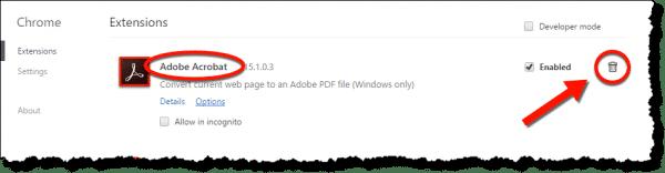 Remove Adobe's Stealth Chrome Extension - Ask Leo!