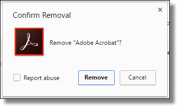 Remove Adobe's Stealth Chrome Extension - Ask Leo!