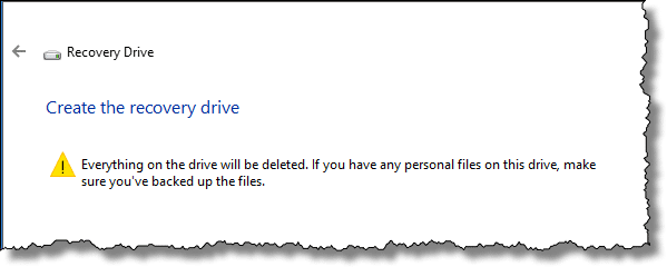 How to Create a Windows 10 Recovery Drive - Ask Leo!