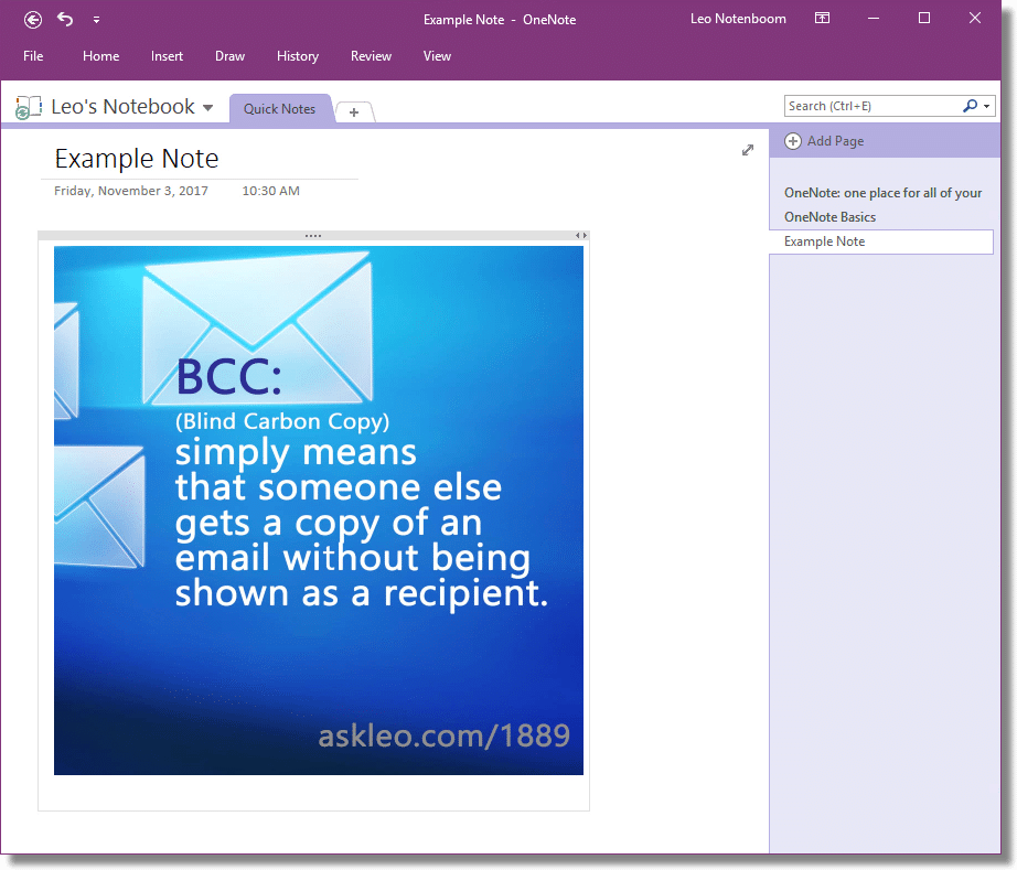 Use OneNote for Basic OCR - Ask Leo!