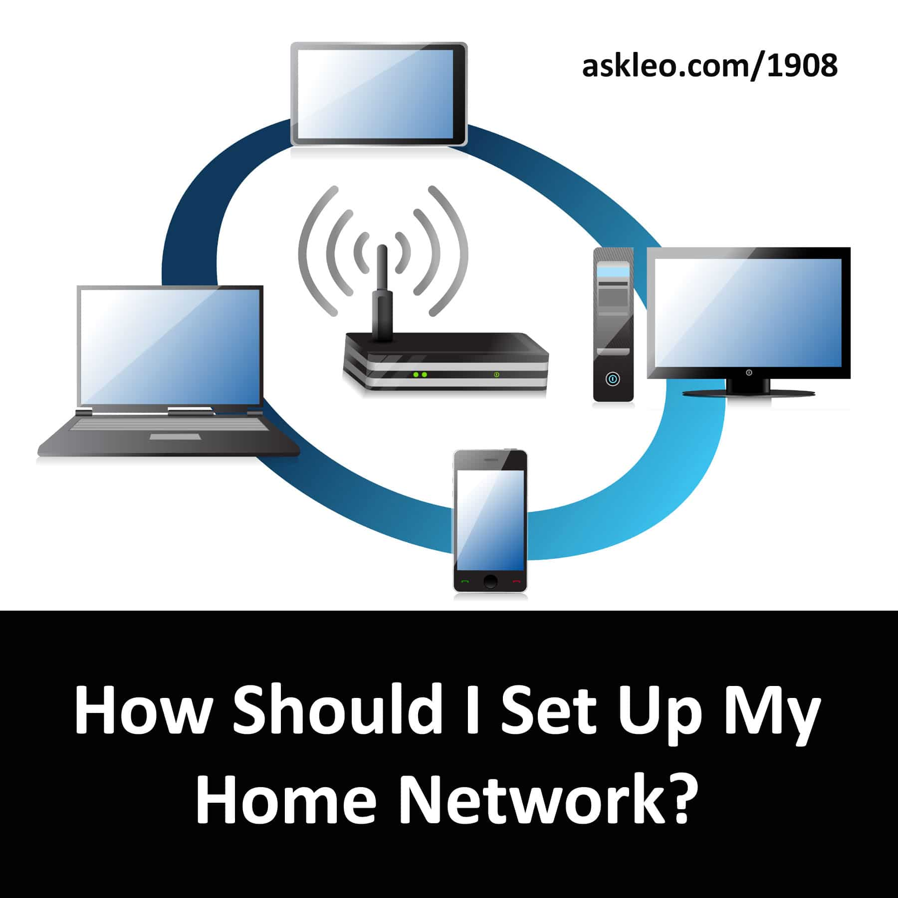 How Should I Set Up My Home Network? - Ask Leo!