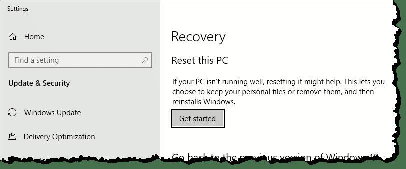 How Do I Reset Windows 10? - Ask Leo!